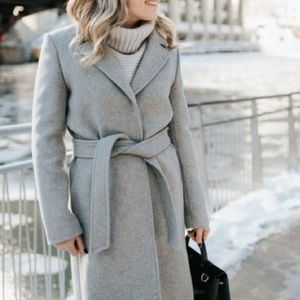 Chic Gray Coat